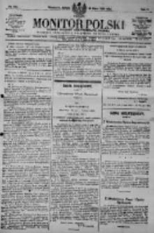 Monitor Polski. Dziennik Urzędowy Rzeczypospolitej Polskiej. 1923.07.28 R.6 nr169