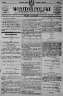 Monitor Polski. Dziennik Urzędowy Rzeczypospolitej Polskiej. 1923.08.01 R.6 nr172