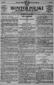 Monitor Polski. Dziennik Urzędowy Rzeczypospolitej Polskiej. 1923.08.03 R.6 nr174