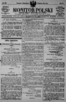 Monitor Polski. Dziennik Urzędowy Rzeczypospolitej Polskiej. 1923.08.06 R.6 nr176