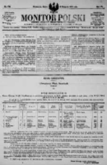 Monitor Polski. Dziennik Urzędowy Rzeczypospolitej Polskiej. 1923.08.08 R.6 nr178
