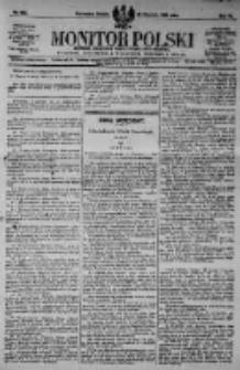 Monitor Polski. Dziennik Urzędowy Rzeczypospolitej Polskiej. 1923.08.25 R.6 nr192