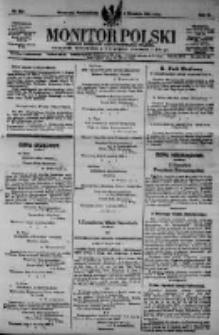 Monitor Polski. Dziennik Urzędowy Rzeczypospolitej Polskiej. 1923.09.03 R.6 nr199