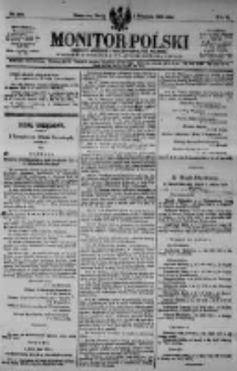 Monitor Polski. Dziennik Urzędowy Rzeczypospolitej Polskiej. 1923.09.05 R.6 nr201