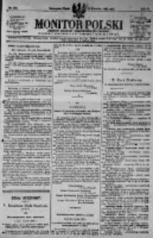 Monitor Polski. Dziennik Urzędowy Rzeczypospolitej Polskiej. 1923.09.14 R.6 nr208