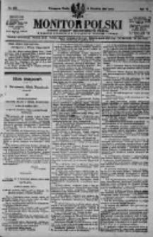 Monitor Polski. Dziennik Urzędowy Rzeczypospolitej Polskiej. 1923.09.19 R.6 nr212