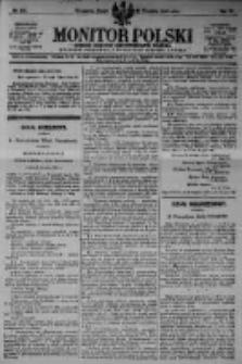 Monitor Polski. Dziennik Urzędowy Rzeczypospolitej Polskiej. 1923.09.21 R.6 nr214