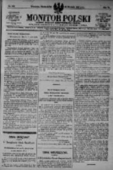 Monitor Polski. Dziennik Urzędowy Rzeczypospolitej Polskiej. 1923.09.24 R.6 nr216