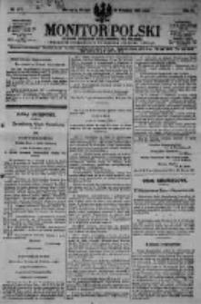 Monitor Polski. Dziennik Urzędowy Rzeczypospolitej Polskiej. 1923.09.25 R.6 nr217