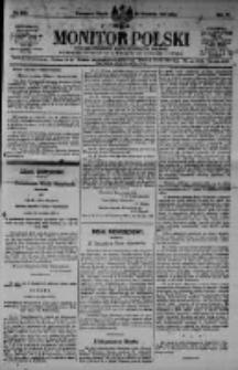 Monitor Polski. Dziennik Urzędowy Rzeczypospolitej Polskiej. 1923.09.28 R.6 nr220