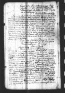 Copia Listu Kazimierza Opalińskiego Xiędza Biskupa Chełminskiego y Pomazanskiego do Xiążęcia Prymasa Michała Radziejowskiego z Warszawy