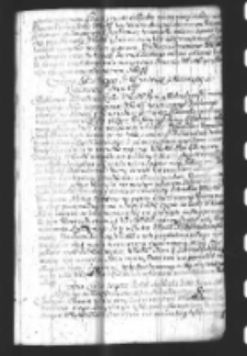 Copia Listu tegosz IMCi do Krola Jana III dziękując za konferowane sobie Stolnikostwo Koronne