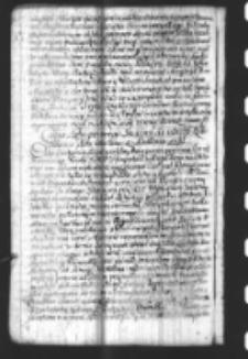 Copia Listu pewnego Senatora do iednego Rokoszanina data 12mo Novem. z Krakowa 1697