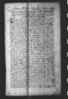 Mowa Rafała Hrabi na Lesznie woiewody Łęczyckiego in senatus consilio 14 Febr. 1702, po zerwanym seymie w Warszawie