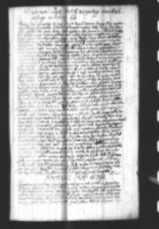 Dziękowanie za Laskę sty bratyanskiego marszałka poselskiego na Seymie 1690
