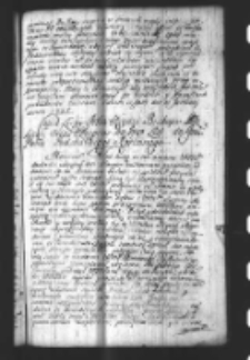 Copia Listu Xiędza Biskupa Łodzkiego alias Respons na Iego List do Podskarbiego Koronnego