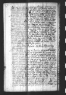 List Teodora Andrzeja Potockiego Prymasa do Xcia Woiewody Krakowskiego Teodora Konstantego Lubomirskiego