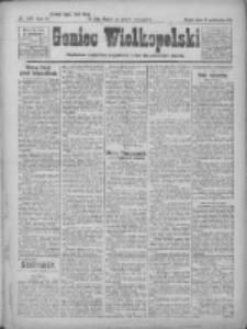 Goniec Wielkopolski: najtańsze pismo codzienne dla wszystkich stanów 1922.10.25 R.45 Nr245