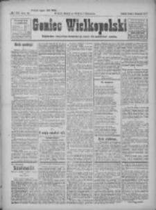 Goniec Wielkopolski: najtańsze pismo codzienne dla wszystkich stanów 1922.11.01 R.45 Nr251