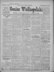 Goniec Wielkopolski: najtańsze pismo codzienne dla wszystkich stanów 1922.11.10 R.45 Nr259