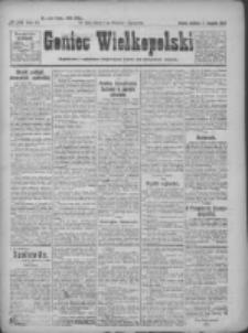 Goniec Wielkopolski: najtańsze pismo codzienne dla wszystkich stanów 1922.11.12 R.45 Nr261