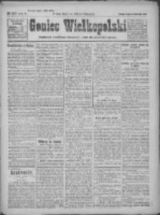 Goniec Wielkopolski: najtańsze pismo codzienne dla wszystkich stanów 1922.11.15 R.45 Nr263