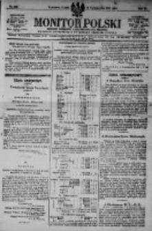 Monitor Polski. Dziennik Urzędowy Rzeczypospolitej Polskiej. 1923.10.12 R.6 nr232