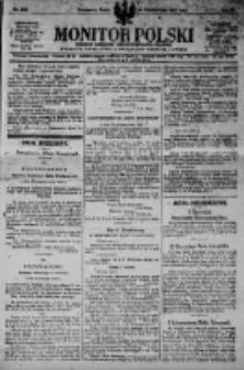 Monitor Polski. Dziennik Urzędowy Rzeczypospolitej Polskiej. 1923.10.24 R.6 nr242