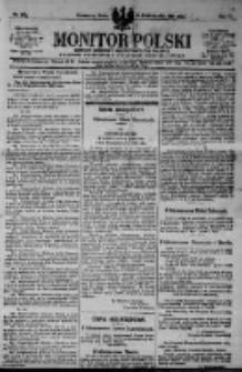 Monitor Polski. Dziennik Urzędowy Rzeczypospolitej Polskiej. 1923.10.31 R.6 nr248