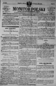 Monitor Polski. Dziennik Urzędowy Rzeczypospolitej Polskiej. 1923.11.03 R.6 nr250
