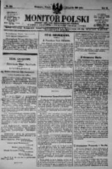 Monitor Polski. Dziennik Urzędowy Rzeczypospolitej Polskiej. 1923.11.06 R.6 nr252