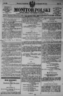 Monitor Polski. Dziennik Urzędowy Rzeczypospolitej Polskiej. 1923.11.12 R.6 nr257