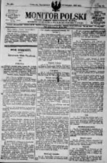 Monitor Polski. Dziennik Urzędowy Rzeczypospolitej Polskiej. 1923.11.19 R.6 nr263