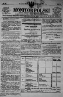Monitor Polski. Dziennik Urzędowy Rzeczypospolitej Polskiej. 1923.11.23 R.6 nr267
