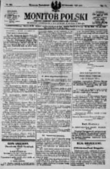 Monitor Polski. Dziennik Urzędowy Rzeczypospolitej Polskiej. 1923.11.26 R.6 nr269