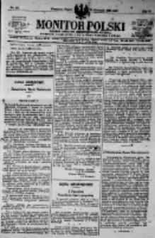 Monitor Polski. Dziennik Urzędowy Rzeczypospolitej Polskiej. 1923.11.30 R.6 nr273