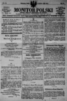 Monitor Polski. Dziennik Urzędowy Rzeczypospolitej Polskiej. 1923.12.05 R.6 nr277