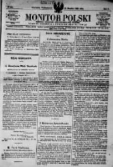 Monitor Polski. Dziennik Urzędowy Rzeczypospolitej Polskiej. 1923.12.11 R.6 nr281