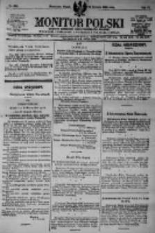 Monitor Polski. Dziennik Urzędowy Rzeczypospolitej Polskiej. 1923.12.14 R.6 nr284