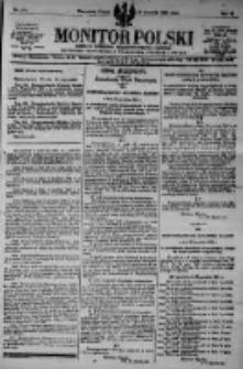 Monitor Polski. Dziennik Urzędowy Rzeczypospolitej Polskiej. 1923.12.21 R.6 nr290