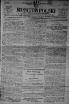 Monitor Polski. Dziennik Urzędowy Rzeczypospolitej Polskiej. 1923.12.22 R.6 nr291