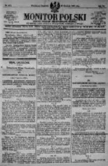 Monitor Polski. Dziennik Urzędowy Rzeczypospolitej Polskiej. 1923.12.27 R.6 nr293