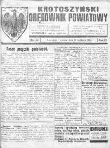 Krotoszyński Orędownik Powiatowy 1920.04.24 R.72 Nr41