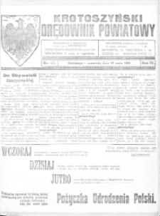 Krotoszyński Orędownik Powiatowy 1920.05.20 R.72 Nr47