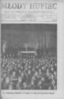 Młody Hufiec: okólnik Związku Młodzieży Polskiej 1929 kwiecień R.3 Nr4