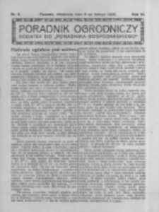 Poradnik Ogrodniczy. 1925.02.08 R.6 nr6