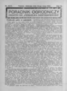 Poradnik Ogrodniczy. 1925.05.24 R.6 nr20-21