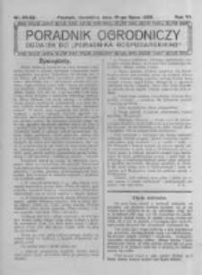 Poradnik Ogrodniczy. 1925.07.19 R.6 nr28-29
