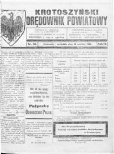 Krotoszyński Orędownik Powiatowy 1920.06.10 R.72 Nr50