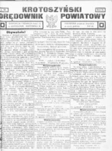 Krotoszyński Orędownik Powiatowy 1920 R.72 nr60